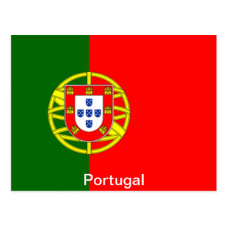 Flag of Portugal Post Card