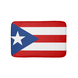 Flag of Puerto Rico Bath Mat