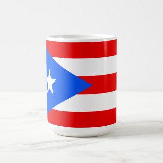 Flag of Puerto Rico Coffee Mug