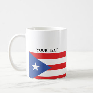 Flag of Puerto Rico Coffee Mug