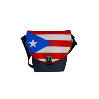 Flag of Puerto Rico Commuter Bag