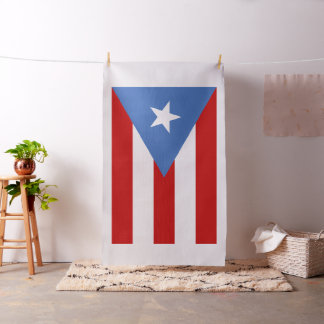 Flag of Puerto Rico Fabric