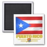 Flag of Puerto Rico Fridge Magnet