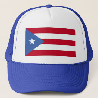 Flag of Puerto Rico Hat