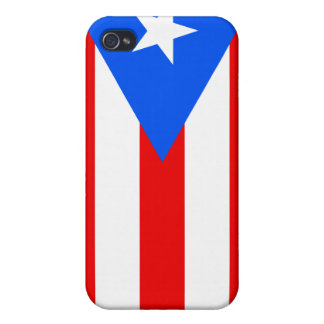 Flag of Puerto Rico Covers For iPhone 4