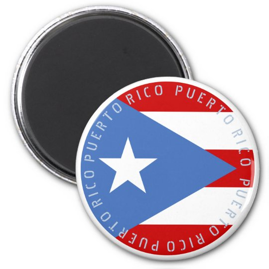 Flag of Puerto Rico Magnet