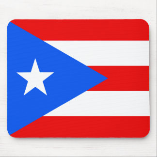 Flag of Puerto Rico Mouse Mat