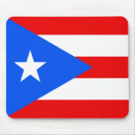 Flag of Puerto Rico Mouse Pads