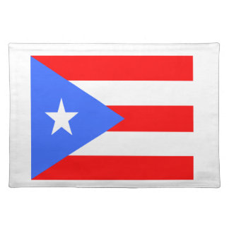 Flag of Puerto Rico Placemat