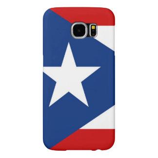 Flag of Puerto Rico Samsung Galaxy S6 Cases