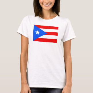 Flag of Puerto Rico Women's Basic T-Shirt