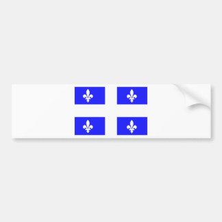 Flag of Quebec Bumper Sticker