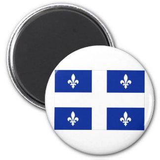 Flag of Quebec, Canada Magnet