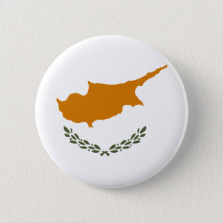 Flag of Republic of Cyprus 6 Cm Round Badge