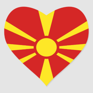Flag of Republic of Macedonia Stickers