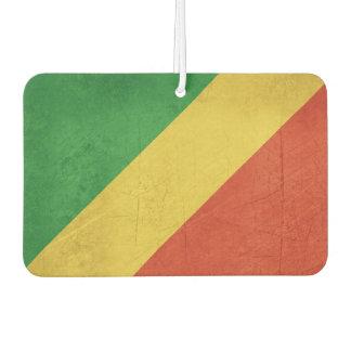 Flag of Republic of the Congo Car Air Freshener