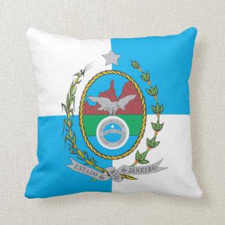 Flag of Rio de Janeiro Cushion
