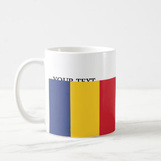 Flag of Romania Coffee Mug