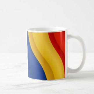 Flag of Romania mug