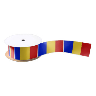 Flag of Romania Satin Ribbon