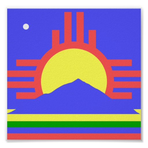 Flag of Roswell Print
