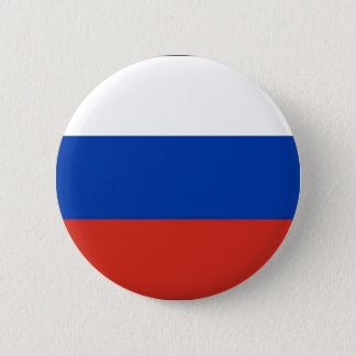 Flag of Russia - Флаг России - Триколор Trikolor 6 Cm Round Badge