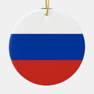 Flag of Russia - Флаг России - Триколор Trikolor Christmas Ornament