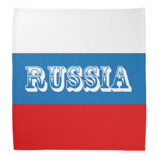 Flag of Russia Bandana