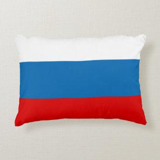 Flag of Russia Decorative Cushion