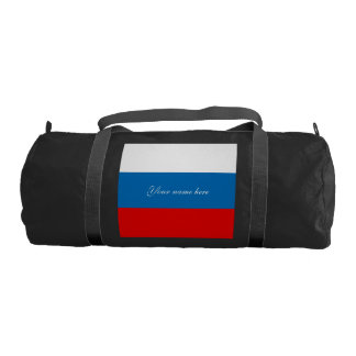 Flag of Russia Gym Bag