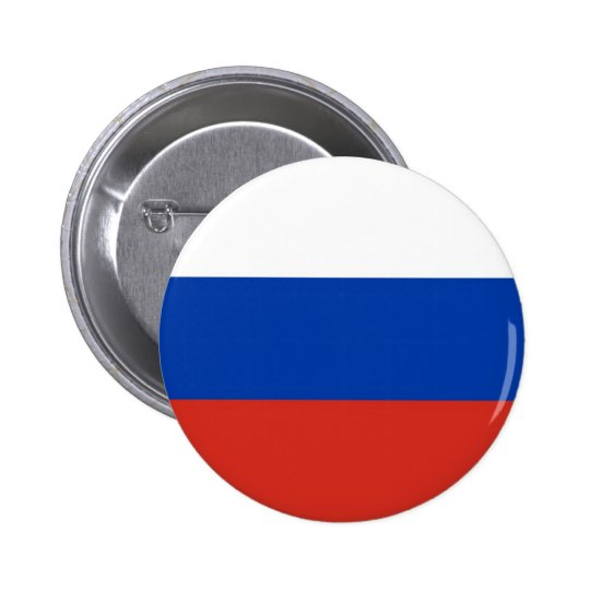 Flag of Russia on Pin / Button Badge
