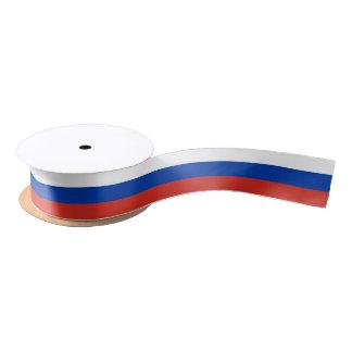 Flag of Russia ribbon Satin Ribbon