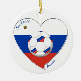 Flag of RUSSIA SOCCER of the world in 2014