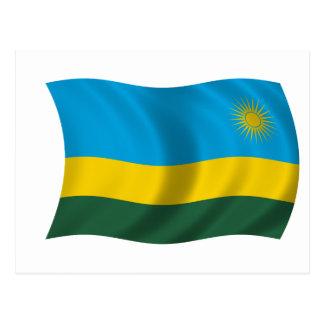 Flag of Rwanda Postcard