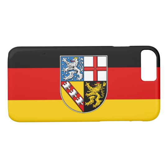 Flag of Saarland iPhone 8/7 Case