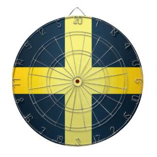 Flag of Saint David Of Wales Dartboard
