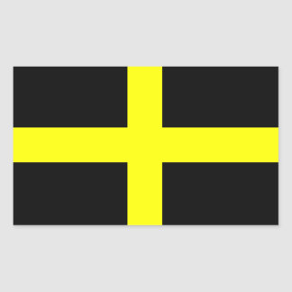 Flag of Saint David Rectangular Sticker