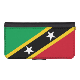 Flag of Saint Kitts and Nevis iPhone SE/5/5s Wallet Case