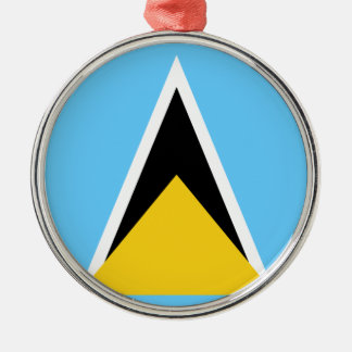 Flag_of_Saint_Lucia Christmas Ornament