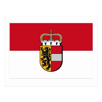 Flag of Salzburg, Austria Postcard