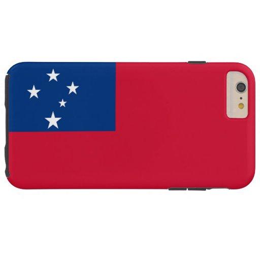 Flag of Samoa Tough iPhone 6 Plus Case