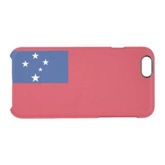 Flag of Samoa Clear iPhone Case