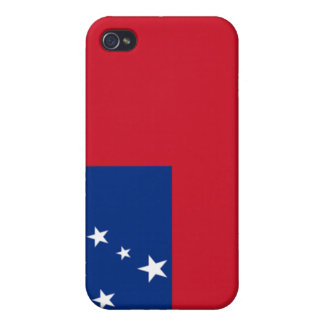 Flag of Samoa Covers For iPhone 4