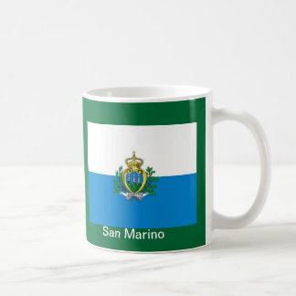 flag of San Marino Coffee Mug