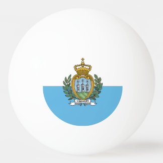 Flag of San Marino / Sammarinese flag Ping Pong Ball