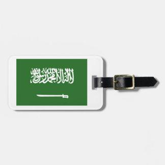 Flag of Saudi Arabia Luggage Tag