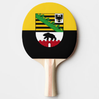 Flag of Saxony-Anhalt Ping Pong Paddle
