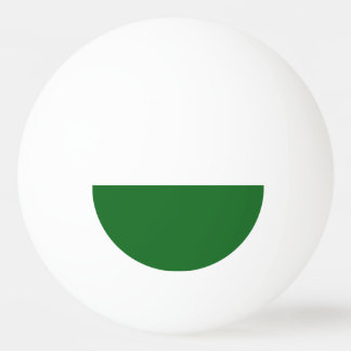 Flag of Saxony Ping Pong Ball