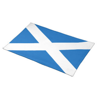 Flag of Scotland - Bratach na h-Alba Placemat