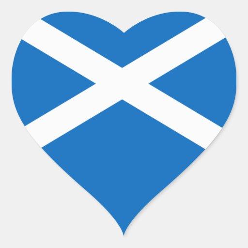 Flag of Scotland - Bratach na h-Alba Stickers